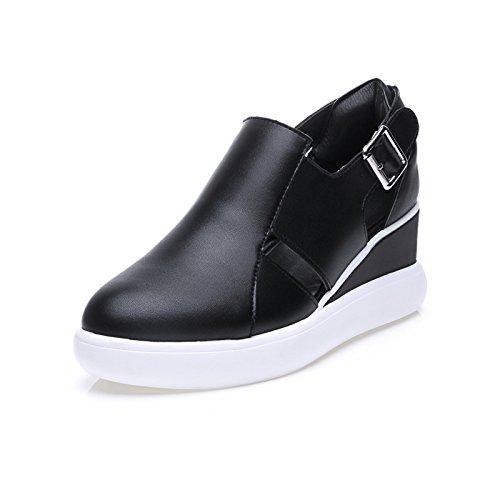 ZPPZZP Ms sandali stile Coreano casual nero 36EU