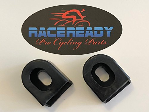 RACE READY 2 Crank Arm Boots.MTB.Cycling. fits SRAM/Shimano - Black ()