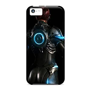Tpu Case Cover For Iphone 5c Strong Protect Case - Starcraft Ghost Design