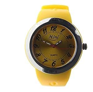 Himi Ladies Sports Quartz Watch Watch for Ladies-Yellow Strap-HM8823_YELLOW