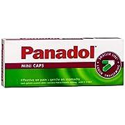 Panadol Mini Pain Relief Capsules, 20 count, Pack of 20