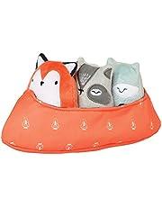 Manhattan Toy Camp Acorn Canoe Buddies Soft Stuffed Animal Baby Toy
