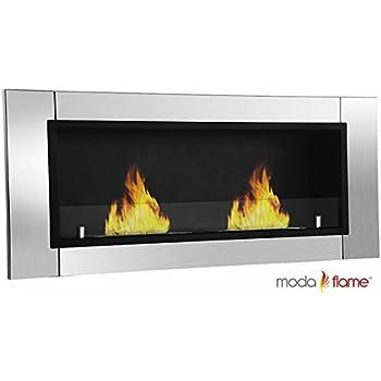 Amazon.com: GF101650 Valencia Wall Mounted Ethanol Fireplace ...