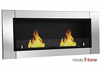 GF101650 Valencia Wall Mounted Ethanol Fireplace -