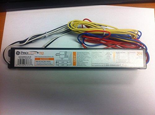 GE 61373 GE240RS-B 120V RESIDENTAIL ELECTRONIC 2 LAMP