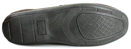NEU Herren/Herren braun ohne Bügel Halbschuhe Stil Schuhe - braun - UK Größen 6-11
