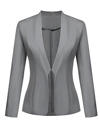 Grey School Blazer - 3