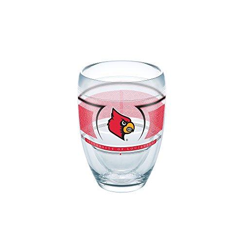 Tervis 1230167 NCAA Louisville Cardinals Reserve Tumbler, 9 oz, Clear