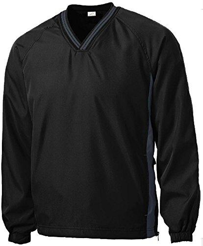Adult V-neck Pullover - Joe's USA tm - Men's Athletic All Sport V-Neck Raglan Wind Shirts in M