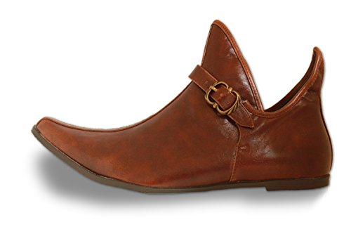 CP-Schuhe Moyen-âge Chaussures Prince Princesse narren jecken LARP déguisement Taille 39