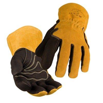 Black Stallion BSX BM88 Xtreme Pigskin MIG Welding Gloves, Small (Black Stallion Gloves Welding)