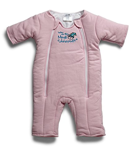 Price comparison product image Baby Merlin's Magic Sleepsuit Cotton - Pink - Large
