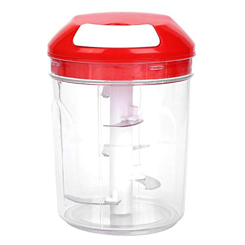 (Household Manual Vegetable Chopper Food Processor Shredder Meat Crusher)