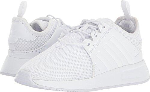 adidas Originals Baby X_PLR EL White, 10 M US Toddler