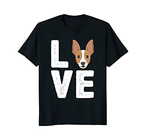 I Love My Rat Terrier Shirt