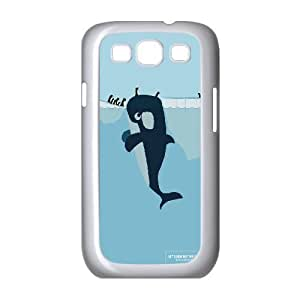 Let us Look Out For Each Other Whales & Penguins Samsung Galaxy S3 Case For Teen Girls, Case For Samsung Galaxy S3 Mini 3d [White]