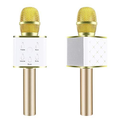 Miaomiaogo Q7 Magic Karaoke Microphone Phone KTV Player Wireless Bluetooth MIC Speaker Record Music