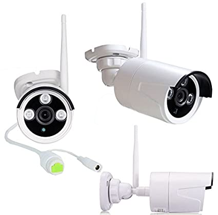 Wireless Bullet Camera for Onvif WiFi NVR: Amazon in: Electronics