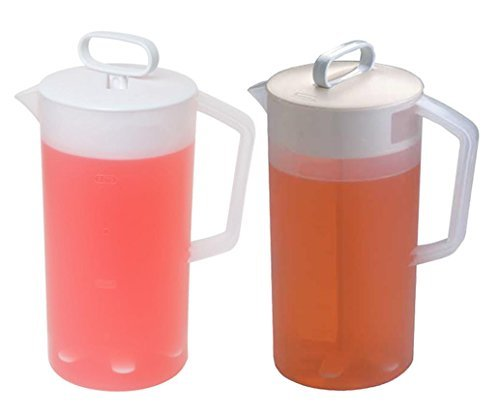 Rubbermaid Servin Saver White Mixing Pitcher 2 Qt. (Set of 2) ()