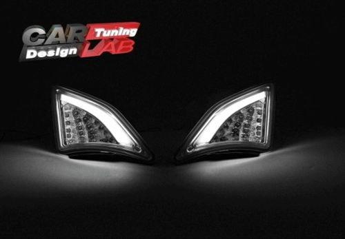LED-Tagfahrlicht 2 Parklicht vorne Blinklichter aus Rauchglas