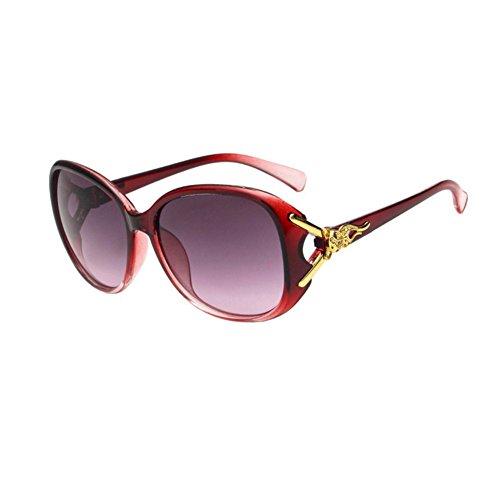 de Sol Mujer Sol Nikgic Polarizado Resina Retro Moda la Portección UV Deportiva Conducción Gafas Gafas D de para IHwE7