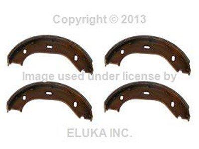 (BMW Genuine Brake Shoe Set for Parking Brake for 528i 530i 733i 630CSi 633CSi 2500 2800 2800Bav 3.0S 3.0SBav 3.0Si 318i 318is 325e 325i 325ix M3 3.0CS E12 E23 E24 E3 E30 E9)