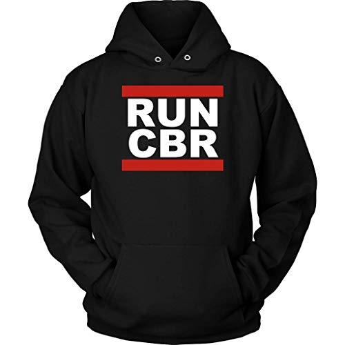 (CBR Sportbike Motorcycle Hoodie Sweatshirt Black)