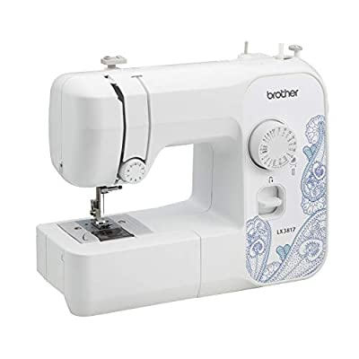 Brother Sewing RLX3817 Full Size Sewing Machine, White (Certified Refurbished)