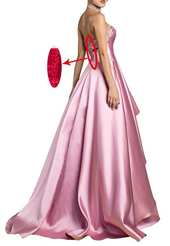 Pockets Bridal Party Prom J10 Beaded Gowns 2018 With Dresses Lilac Evening Beauty Women's 4qwAgzg