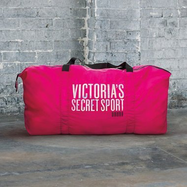 Victoria's Secret Halloween Costume Bag (Victoria's Secret Sport Gym Duffel Tote Bag)