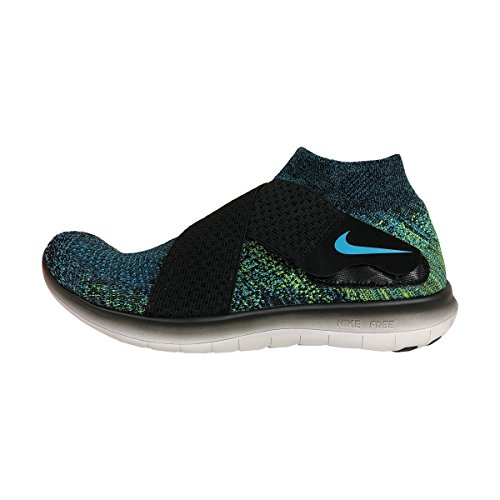 new concept 4af48 01232 Galleon - NIKE Mens Free RN Motion Flyknit 2017 Running Shoes (10.5 D(M) US,  Black Chlorine Blue-Volt-Black)