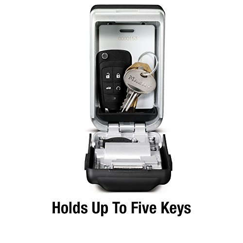 Master Lock 5425D Set Your Own Combination Wall Mount Lock Box with Light Up Dials 6 Key Capacity by Master Lock (Image #3)