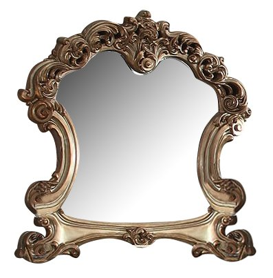 Acme Furniture 23004 Vendome Mirror, Gold (Antique English Bone China)