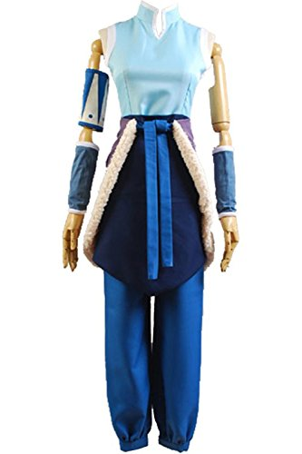 Legend Of Korra Halloween Costumes (Cosdaddy® Avatar the Legend of Korra Cosplay Costume Korra Halloween Outfit)