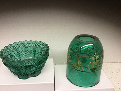 Fenton Emerald Green Tea Light ()