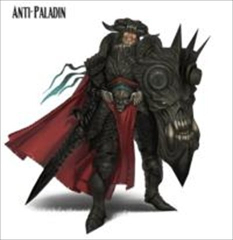 Reaper Miniatures 60103 Pathfinder Series Mini Anti Paladin Miniature by Reaper