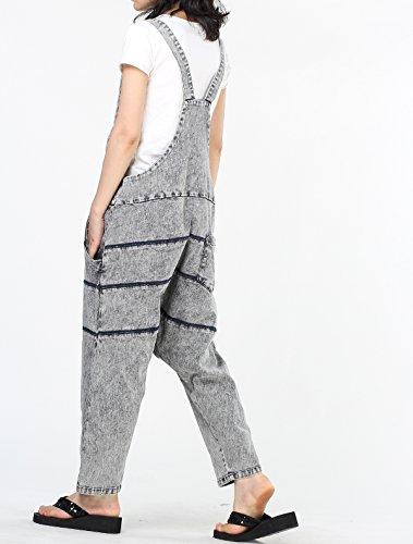 Vogstyle Mujer Harem Casual Jumpsuit Stile-1 Grigio