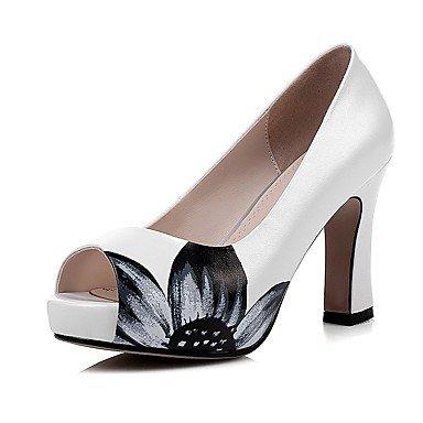 Chaussures pink Talon Confort Gros Cuir Décontracté Talons ggx LvYuan blushing à Femme xqwPYAPI1