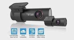 4K UHD + FULL HD CLOUD DASHCAM IN A CLASS OF ITS OWN Front cam: 8 megapixels sensor / 4K Ultra High Definition (3840×2160 @30FPS). Rear cam: 2.1 megapixels STARVIS sensor / Full HD (1920×1080 @30FPS). BUILT-IN IMPACT & MOTION DETECTION MA...