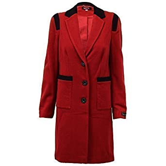 Ladies Wool Cashmere Coat Womens Jacket Outerwear Trench Overcoat Winter  Lined  Amazon.co.uk  Clothing c03bf96aa