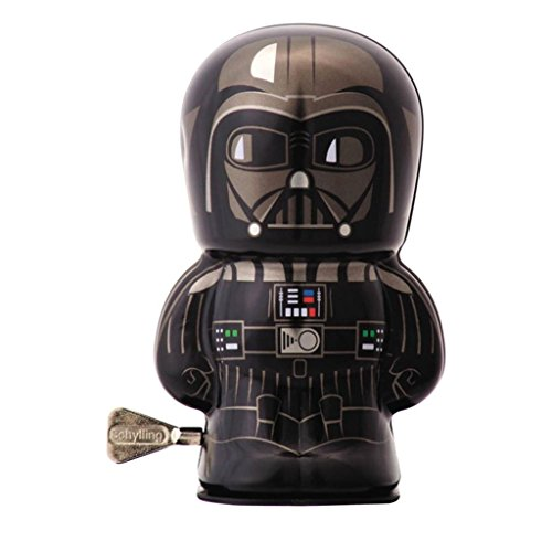 Official Star Wars Character Tin Wind Ups Darth Vader Bebot Collectable Toys - Boxed ()