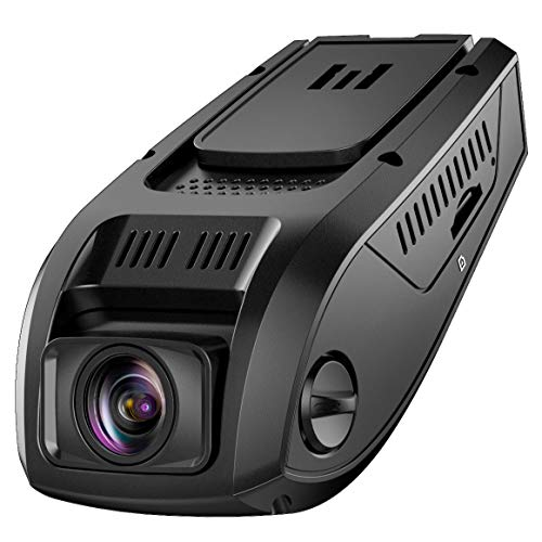 Pruveeo F5 FHD 1080P Dash Cam, Discreet Design Dash Camera for Cars, 170 Wide Angle