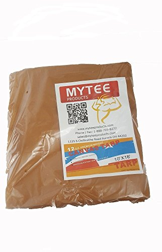 10' x 12' Tan Canvas Tarp 12oz Heavy Duty Water Resistant by  Mytee Products  (Image #5)