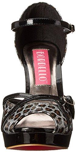 Bordello Cheetah Femmes S Pearlized Che06g Patent Silver 4 rtqPnCrYxw