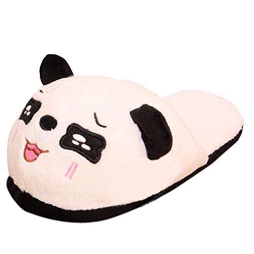 Ciabatte Da Casa Antiscivolo Da Interno Antiscivolo Panda Invernale Sunfei Donne Panda B