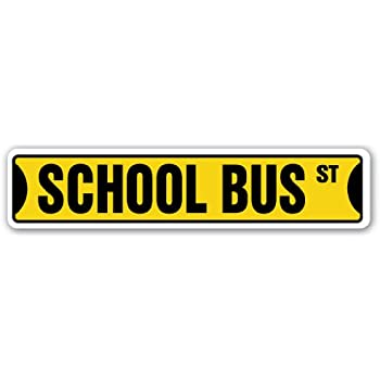 Amazon.com : Bus Driver Novelty Sign | Indoor/Outdoor ...