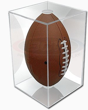 Autographed Football Case - 5