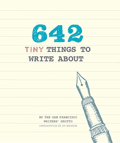 642 things to write about questions