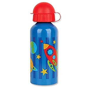 Stephen Joseph Stainless Steel Water Bottle, Space