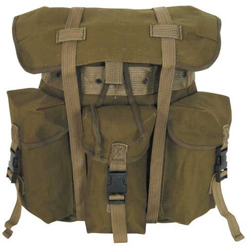 Fox Outdoor Alice Backpack Olive Green, Outdoor Stuffs